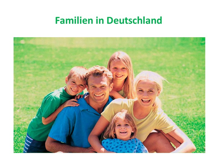 Familien in Deutschland