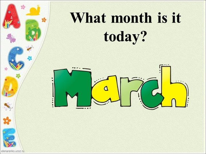 What month is it today?