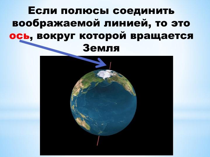 Если полюсы соединить воображаемой линией, то это ось, вокруг которой вращает...