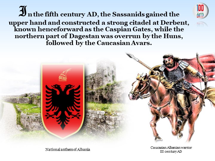 In the fifth centuryAD, the Sassanids gained the       upper hand and constr...
