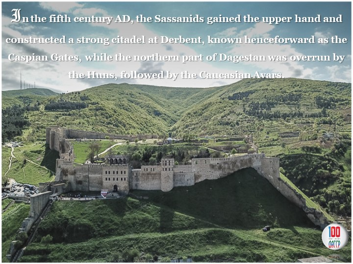 In the fifth centuryAD, the Sassanids gained the upper hand and constructed...