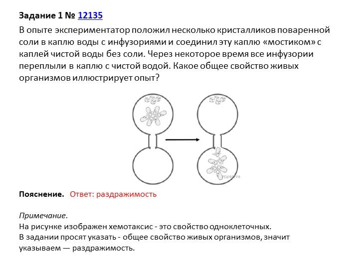 Задание 1№12135В опыте экспериментатор положил несколько кристалликов пова...