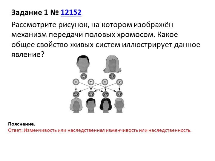 Задание 1№12152Рассмотрите рисунок, на котором изображён механизм передачи...