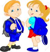 Cute School Boy And Girl Royalty Free Cliparts, Vectors, And Stock  Illustration. Image 29857563.