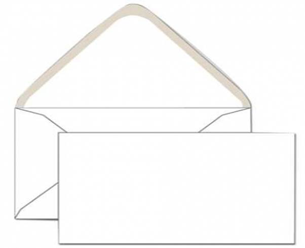 Конверт С6(114х162),крафт,треугольный клапан,10шт в уп.198.10 | Буквоед  Арт. 198.10