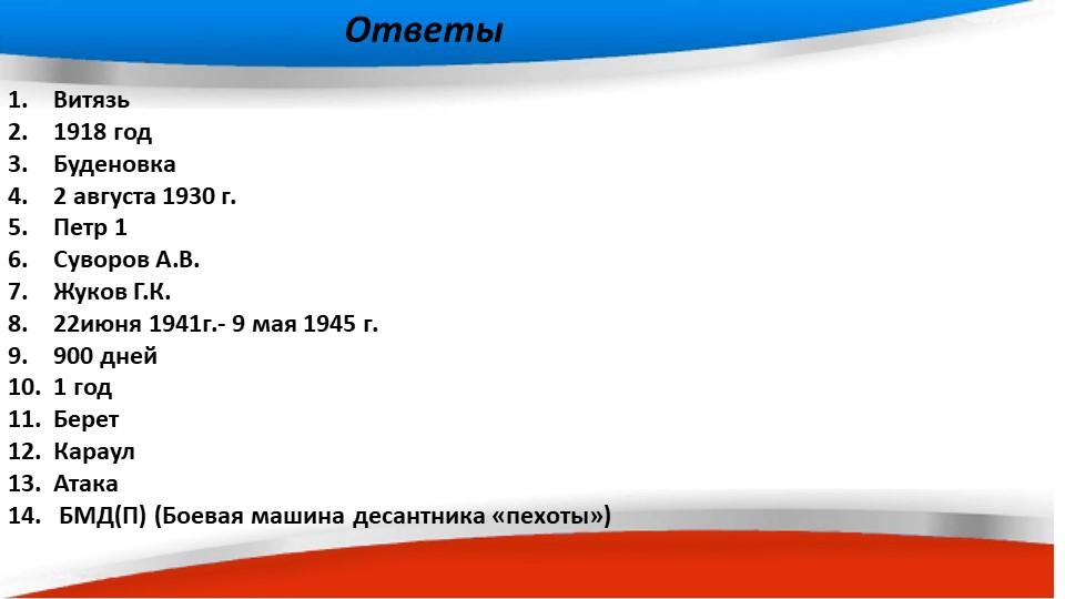 Витязь1918 годБуденовка2 августа 1930 г. Петр 1Суворов А.В.Жуков Г.К....