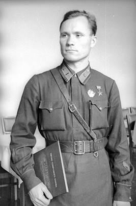 М.И.Мартынов, 1940 год