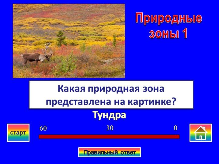 ТундраКакая природная зона представлена на картинке?Природные зоны 103060стар...