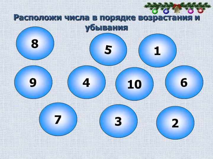 Расположи числа в порядке возрастания и убывания86237941051