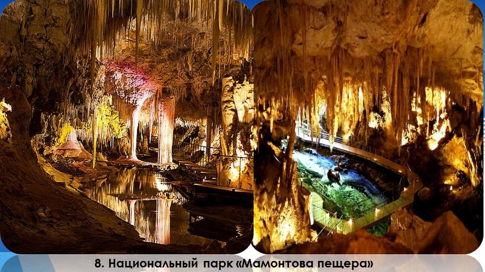 8. Национальный парк «Мамонтова пещера»