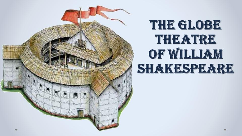 The Globe Theatre  of William Shakespeare
