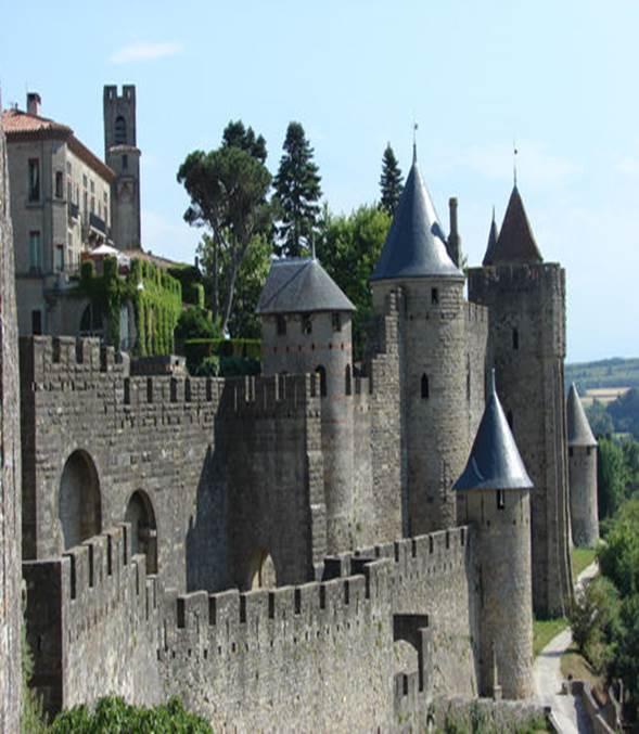 Крепость Каркассон (Carcassonne) - Замки Франции - Каталог статей -  Средневековые замки, крепости всего мира