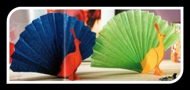 Поделка цветок из цветной бумаги - Поделки