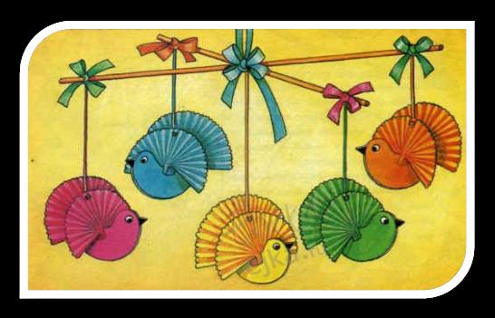 Птичка поделки из бумаги плетением - Поделки своими руками