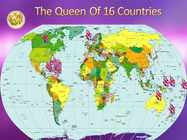 The Queen Of 16 Countries