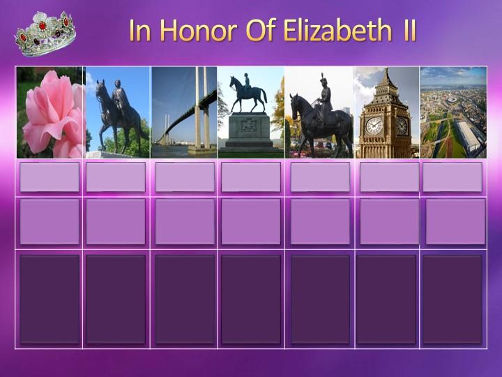 In Honor Of Elizabeth II