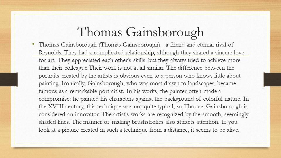 Thomas GainsboroughThomas Gainsborough (Thomas Gainsborough) - a friend and e...