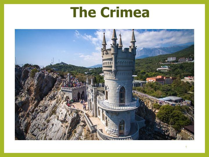 1The Crimea