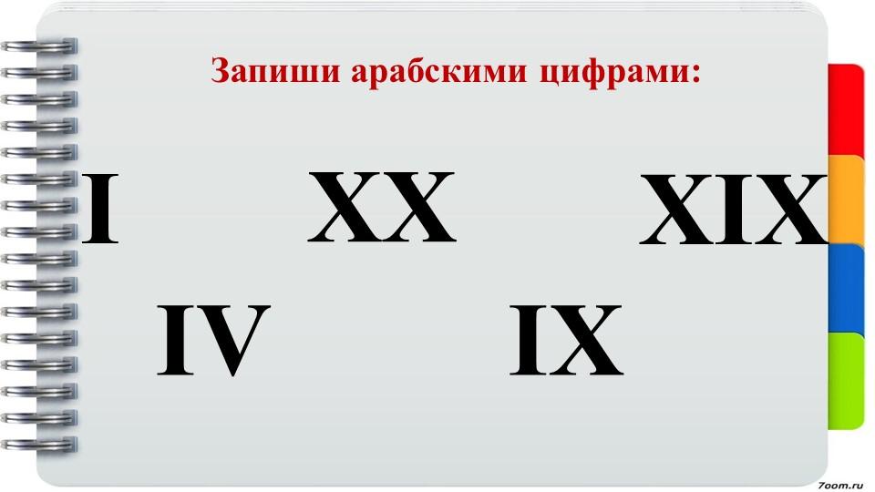 Запиши арабскими цифрами:IIVXXIXXIX