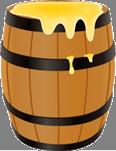 https://cdn2.vectorstock.com/i/1000x1000/81/76/wooden-barrel-with-honey-vector-8728176.jpg