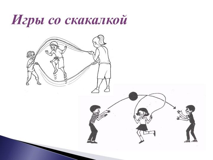Игры со скакалкой