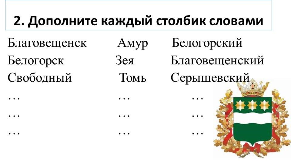 Благовещенск         Амур       БелогорскийБелогорск               Зея...