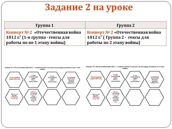 Задание 2 на уроке