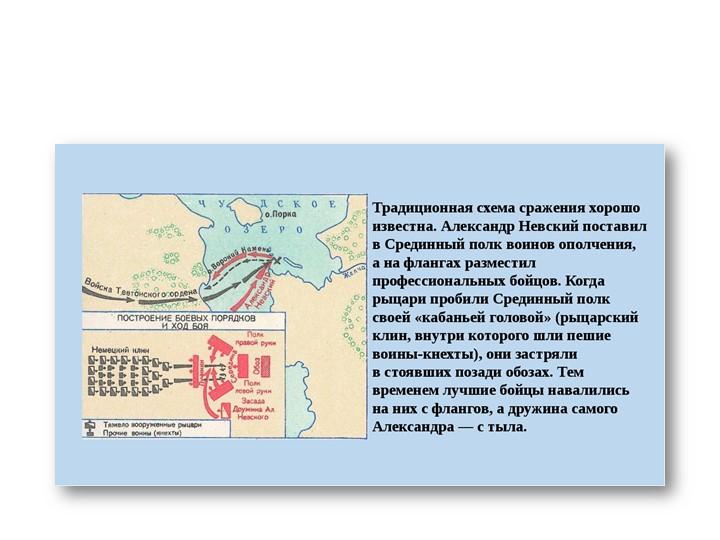 Ледовое побоище 5 апреля 1242г