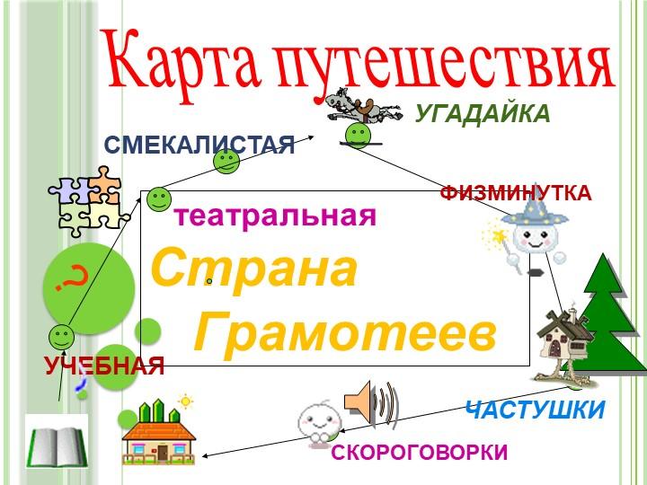 Карта путешествия?УЧЕБНАЯ   театральная     Страна   ГрамотеевСМЕКАЛИСТАЯ...