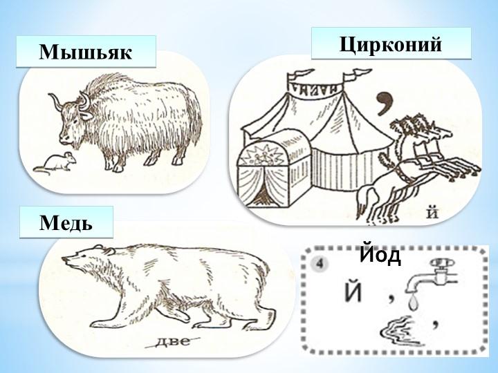 МышьякЦирконийМедьЙод