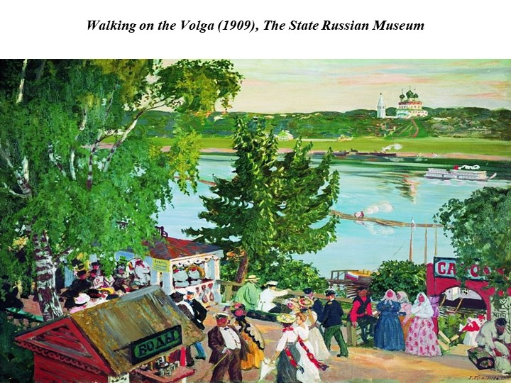 Walking on the Volga (1909), The State Russian Museum