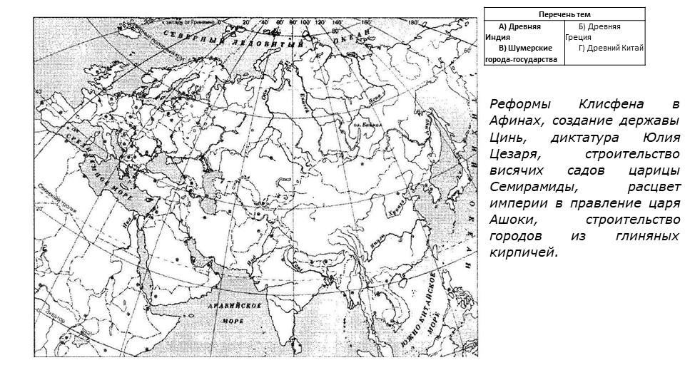Реформы Клисфена в Афинах, создание державы Цинь, диктатура Юлия Цезаря, стро...