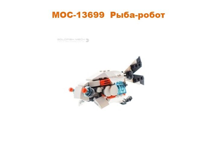MOC-13699Рыба-робот