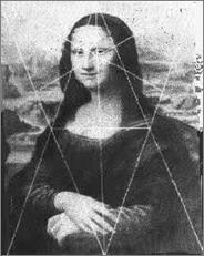 Мона Лиза (Джоконда) Леонардо да Винчи и золотые треугольники