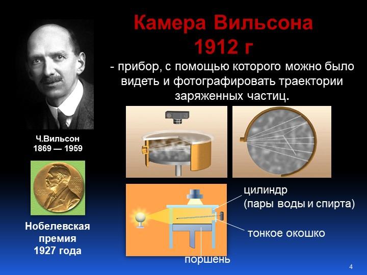 Ч.Вильсон 1869 — 1959- прибор, с помощью которого можно было видеть и фотог...
