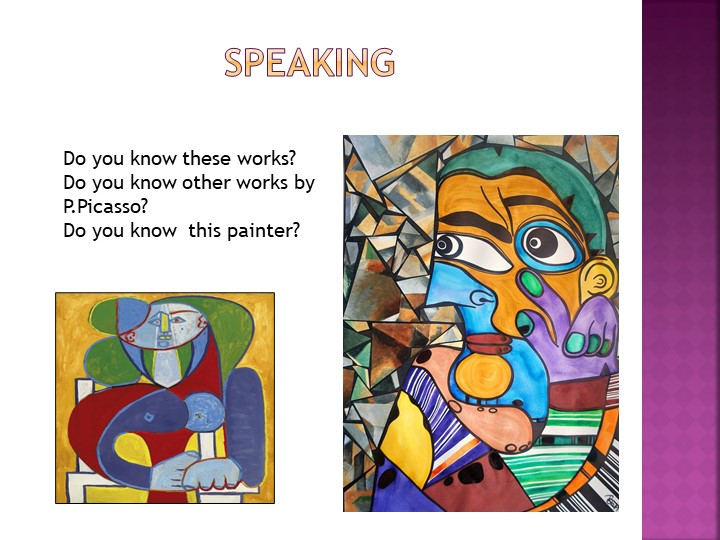SpeakingDo you know these works?Do you know other works by...