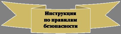 Лента: изогнутая и наклоненная вниз: Инструкция по правилам безопасности